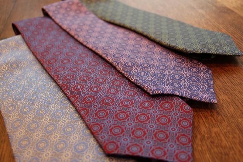 セッテピエゲを超える?イタリア、フィレンツェの至宝ネクタイ。