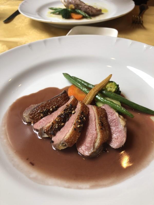 大阪、新町のミシュランビブグルマン「ル・ジャルダン」でフレンチを食べる。