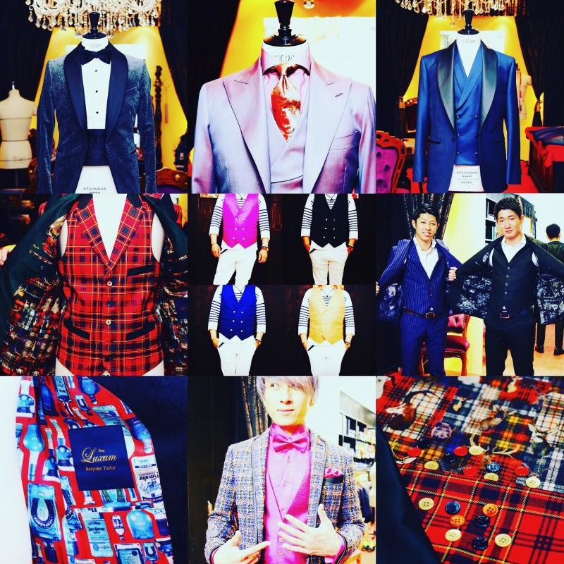 成人式に着るスーツのご参考までに、Luxumオーダースーツアーカイブズ