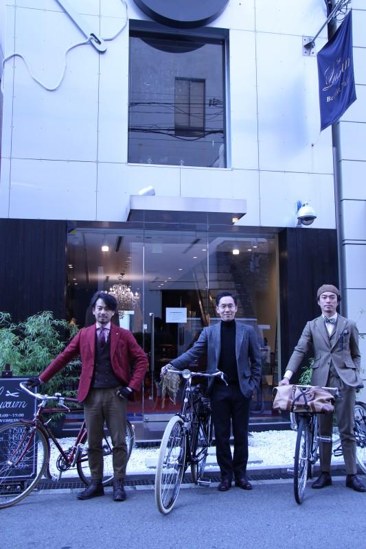 大阪ミナミの名所を自転車でぐるり、「勝手にツイードラン大阪2018(TWEED RUN OSAKA2018)」