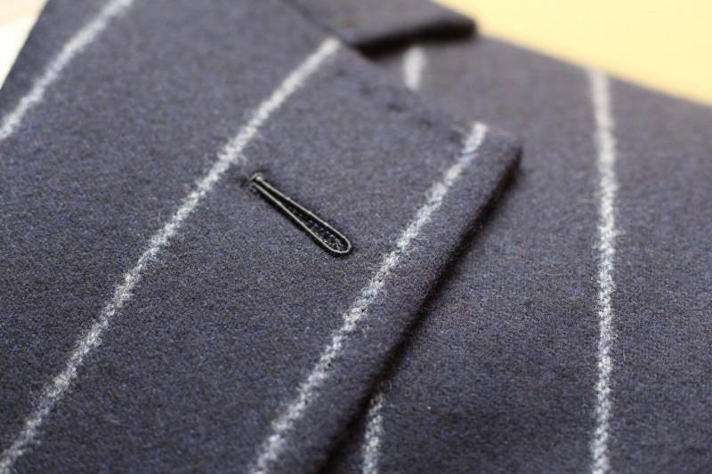 オーダースーツならではの小さなこだわり、上質なビスポーク品とは。