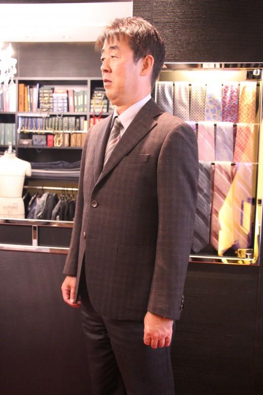 母校金光大阪サッカー部の先輩たちのオーダージャケット&オーダースーツのご紹介