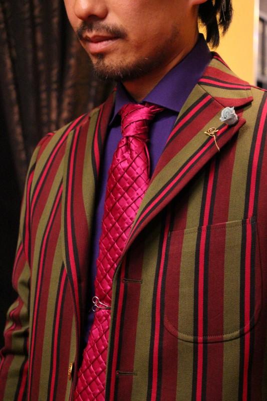 オーダージャケットに紳士洋品の「装いのチカラ」を、盛れるだけ盛ってみました。