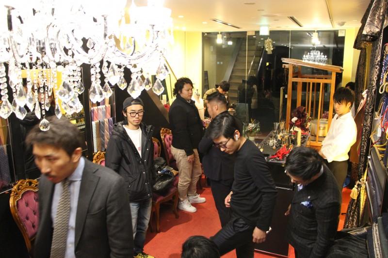 Luxum 2th Anniversary(ラグマ2周年パーティ)。オーダースーツで大阪一を目指す。