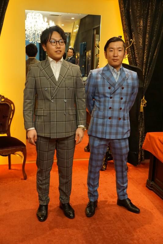 ダブルブレストスーツを纏う、大阪ミナミの不動産ビジネスマン。(新宿スワンⅡの金子ノブアキ超え)
