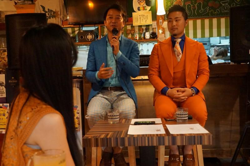 陰陽師亀田氏とパートナープロファイリング協会の佐々木代表による、「無意識を意識する時代令和」のセミナー