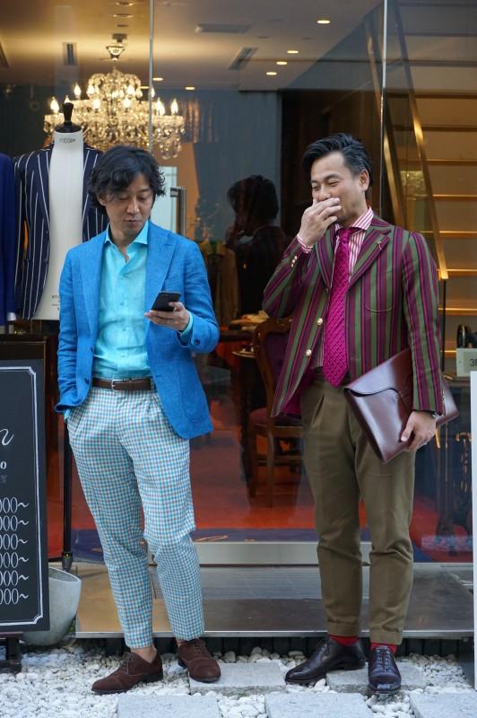Luxumの大阪一派手なジャケット