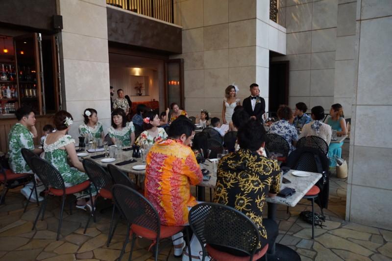 海外挙式披露宴